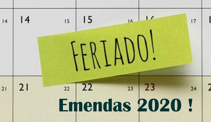 Número de Feriados em 2020 dobra, sua empresa é obrigada a emendar ?